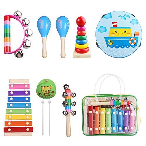 Kids Musical Instruments - Childom Musical Instruments Wood