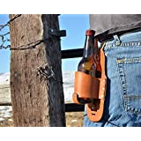 Drink Slings Custom Personalized Leather Beer Holster-Groomsmen Gifts