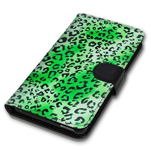 Wallet Book Style Flip Handy Tasche Case Schutz Hülle Schale Motiv Etui für Apple iPhone 6 / 6S - Design Flip MVD159