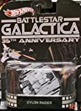 Hot Wheels Retro Battlestar Galactica 35th Anniversary 1:64 Die Cast Vehicle Cylon Raider