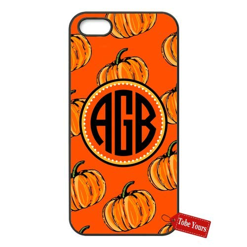 Tobe Yours Hard Phone Case Personalized Custom Name Halloween Thanksgiving Fall Pumpkins Monogrammed Monogram Protective Anti-Scratch Apple iPhone Case Black - iPhone 7]()
