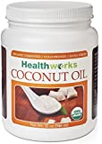Healthworks Organic Extra Virgin Cold Pressed Coconut Oil, 32 oz