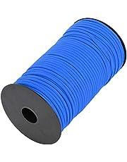 Buitenshuis Klimmen Touw, 100m Polyester en Polypropyleen Gemaakt Schuring Weerstand Skid Weerstand voor Wandelen (Blauw)