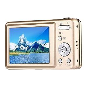 Digital Camera,Bigaint BG007 2.7' TFT 1280x720 5X Optical Zoom 15MP HD Anti-shake Smile Capture Digital Video Camera