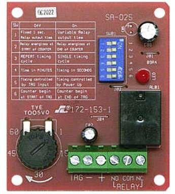 Seco-Larm SA-025Q Enforcer Multi-Purpose Programmable Timer Module