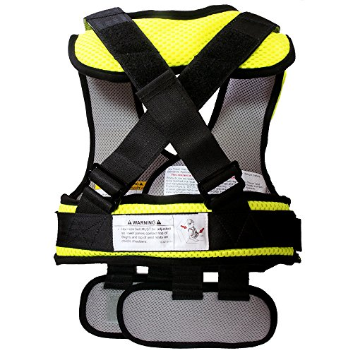 RideSafer Type 3 GEN3 Travel Vest - YellowithBlack - Small by RideSafer (Image #2)