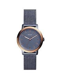 Fossil ES4312 Reloj Análogo para Mujer, color Azul