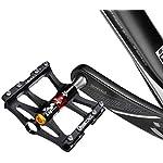 ROCKBROS-Pedali-Bici-MTB-in-Alluminio-916-Universali-4-Cuscinetti-Sigillati-Anodizzazione-CNC-Antiscivolo-Ultra-Leggero