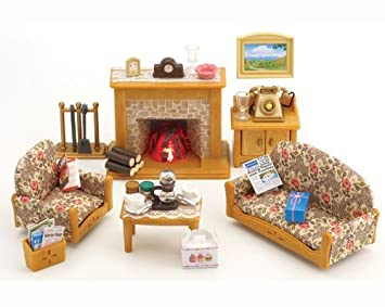 Etonnant Sylvanian Families Country Living Room Set