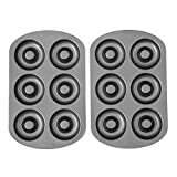 Kyпить Wilton 2105-1620 6 Cavity Nonstick Donut Pans (2 Pack) на Amazon.com