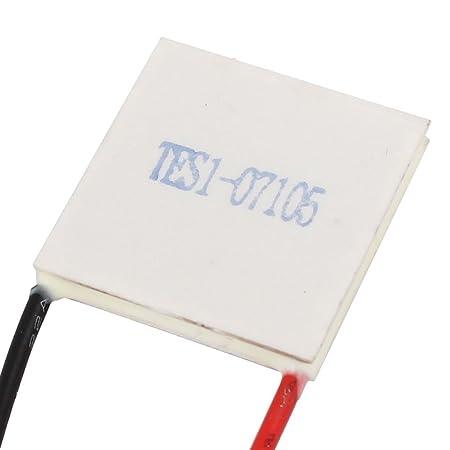 Amazon.com: DealMux TES1-07105 8.4V 5A termoeléctricos módulo refrigerador refrigerar Placa Peltier: Electronics