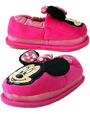 Minnie Mouse Little Girls/ Toddler Light Up Slippers