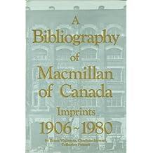 Bibliography Of Macmillan