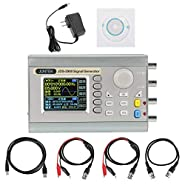 Akozon JDS2900 DDS Signal Generator Counter,15MHz 30MHz 40MHz 50MHz 60MHz High Precision Dual-Channel Arbitrary Waveform Function Generator Frequency Meter 266MSa/s(30MHz US Plug)