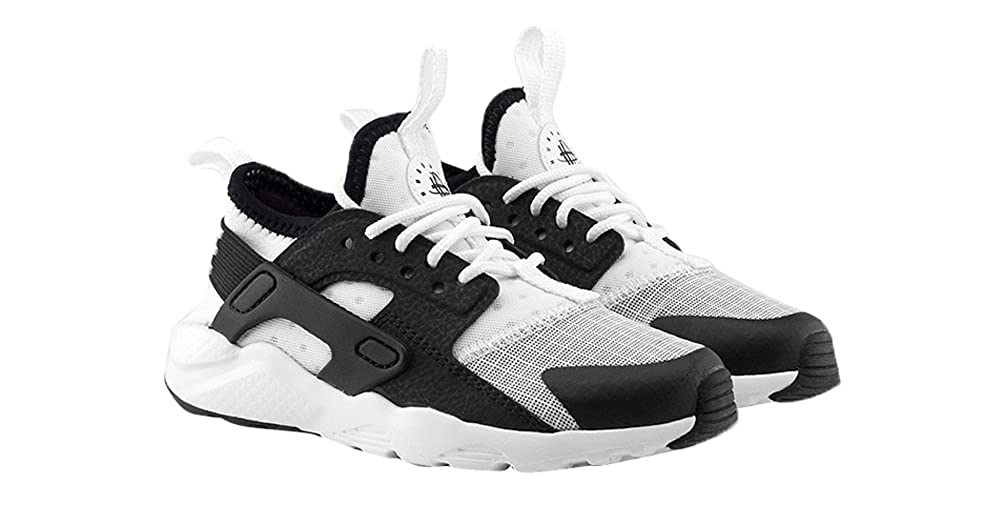 b6f0332a53 Amazon.com | Nike Huarache Run Ultra White/Black (Little Kid) (13C) |  Basketball