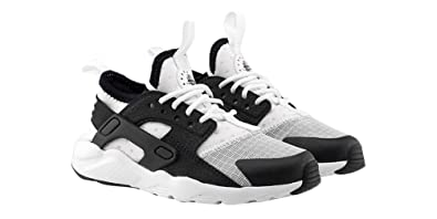 ef8d8add2f95 Nike Huarache Run Ultra White Black (Little Kid) (13C)