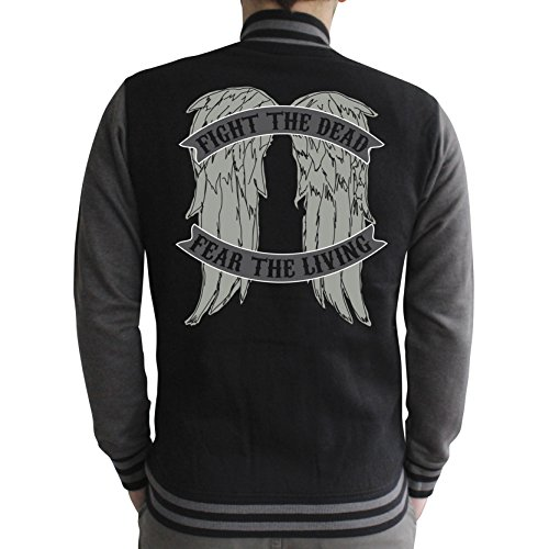 scuro The Walking angel Teddy Dead Wings Homme grigio nero nero HrYPrCwq