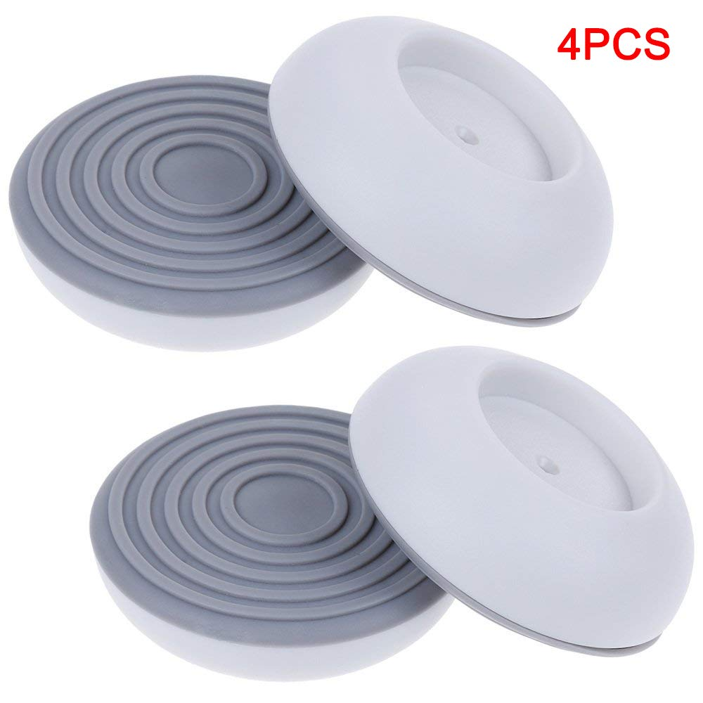 Kyerivs 4 Pack Gate Wall Protector, Wall Guard for Protect Door, Stair, Wall Surface, Babies & Pets Safety (White)
