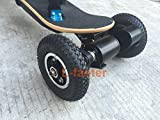 "L-faster 4 Wheels Off Road Skateboard 11 Inch Truck with 8"" Inflation Tyre Motorized Gas Longboard Truck Outdoor Extreme Sport Surfboard"