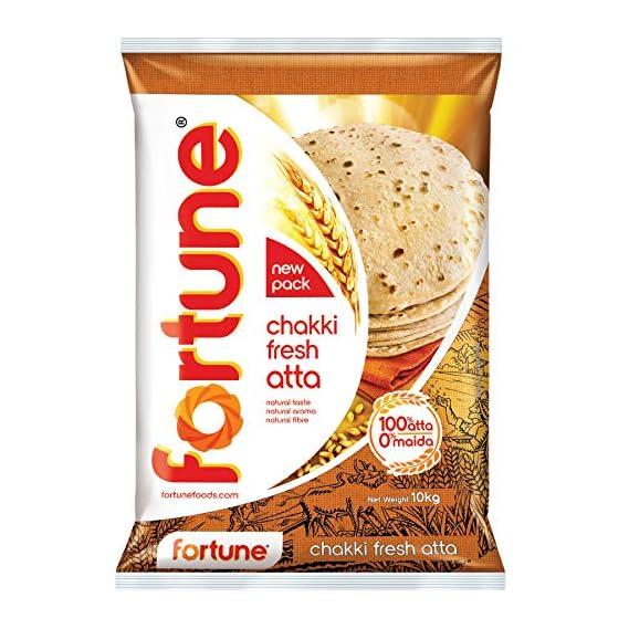 Fortune Chakki Fresh Atta, 10kg