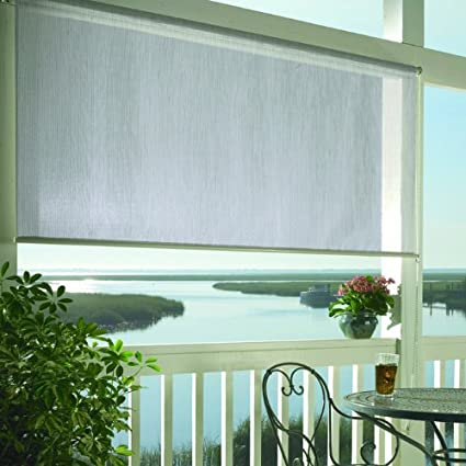 Amazon.com : Coolaroo Premier Window Sun Shade 8 Feet Wide by 6 Feet ...
