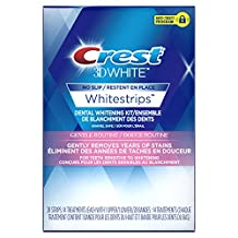 Crest 3D White Whitestrips Gentle Routine Treatments, 14 Count