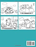 Peppa Pig Coloring Book: toddler coloring books for