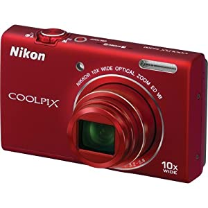 Nikon COOLPIX 16 MP Digital Camera with 10x Optical Zoom NIKKOR ED Glass Lens and HD 720p Video