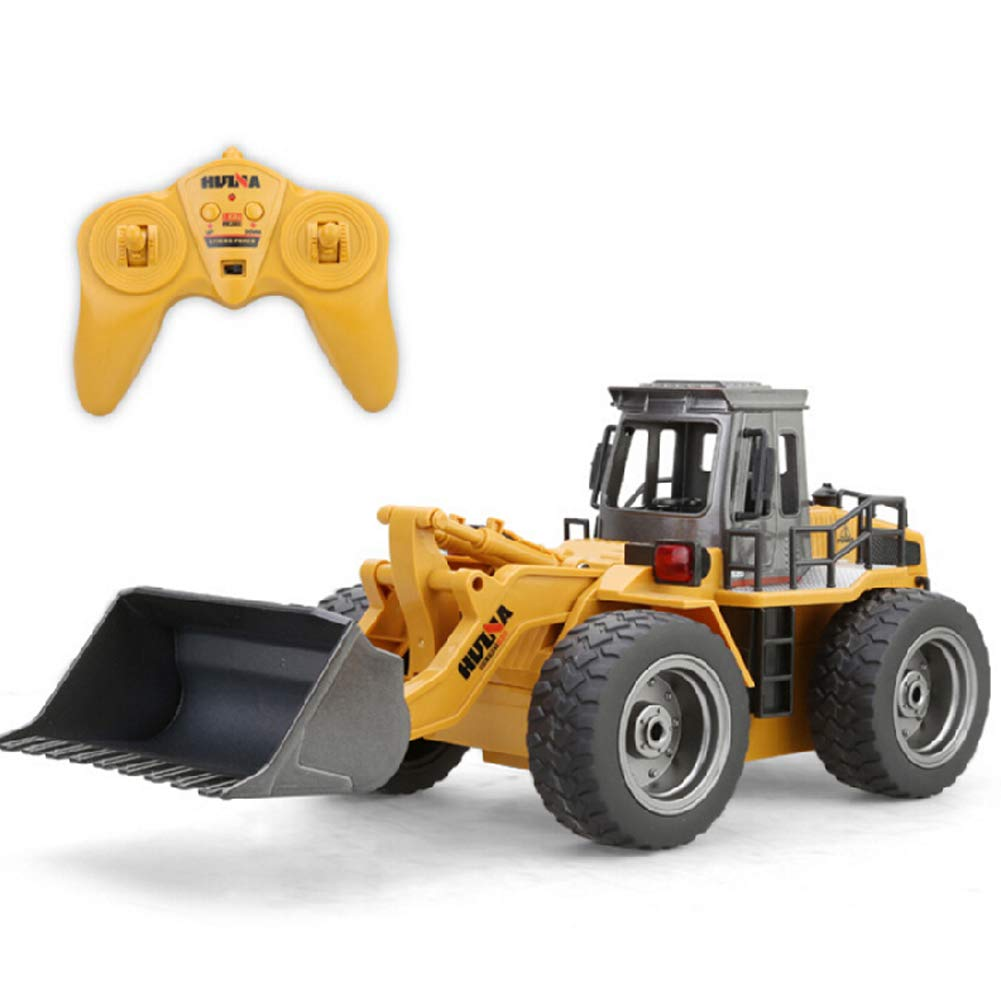 MOMEY RC Tractor 2.4 G Control de Radio Bulldozer Cargador Frontal Construcción Vehículo Electrónico Juguetes