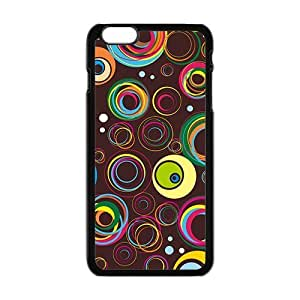 Colorful Circle Bubble Phone Case for Iphone6 plus