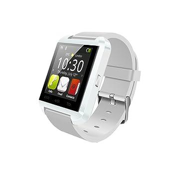 JideTech Bluetooth inteligente del reloj del reloj U8 UWatch para Android Samsung S2 / S3 / S4 / Nota 2/3 Nota HTC Sony: Amazon.es: Electrónica
