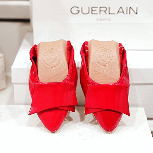 Soja Planos Zapatos GAOLIM Solo 43 Mujer Zapatos 41 De Cómodos Astilleros Zapatos De El Ligeros De rojo Grandes Zapatos De Verano Mujer Mujer Tortillas Señaló Zapatos Y Blandos Granos rXxCYwUrq