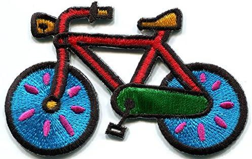 Parche de hierro bordado para ciclista de bicicleta con diseño ...