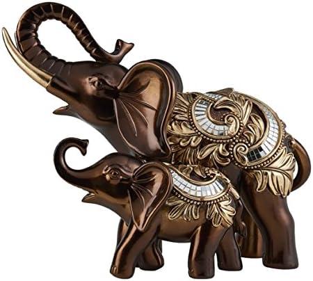 OK Lighting 10″ H Daliyah Decorative Elephant Table D cor