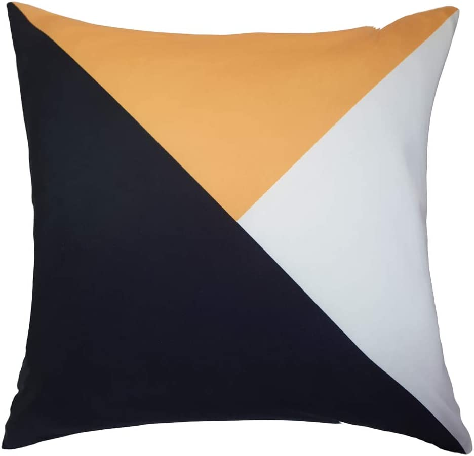 Aleeza Modern Home Made Decorative Pillow Covers Soft Solid Square Stylish Throw Pillow Covers Cushion Case for Sofa Bedroom Terrace Chair Car Seat Velvet Pillow Covers 18x18 Inch (Design 08)