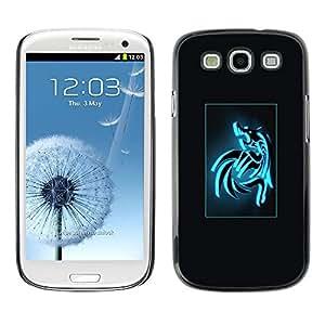 SKCASE Center / Funda Carcasa - Dragón cuadrilla sesión póster;;;;;;;; - Samsung Galaxy S3