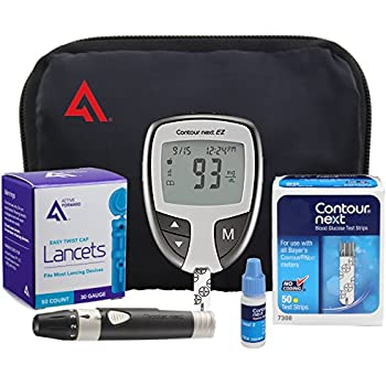 amazon com contour next diabetes testing kit 100 count contour rh amazon com Contour 1500 Contour Plus Camera Razor Gillette Contour Plus
