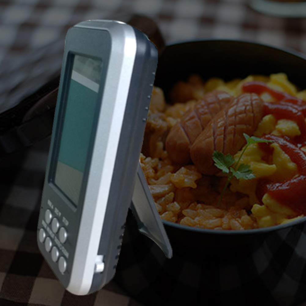 Tzichi - Temperature Gauges - Food Meat Remotely Thermometer Wireless Oven Digital With Probe Bbq - Gauges Indoor Temperature Cars Smokers Automotive Trucks Smoker