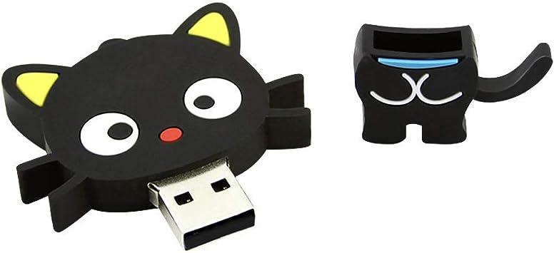 Mode Cartoon Vert Patins /à Glace USB 2.0 Flash Drive Memory Stick Pendrive U Disque 64 GB