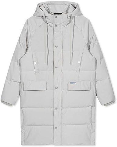 Qifengshop Chaqueta de algodón para hombre Cuello alto de invierno ...