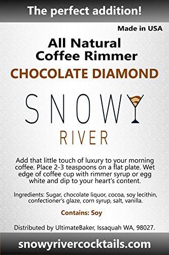 Snowy River Coffee Rimmer (Chocolate Diamond, 8oz) by Snowy River