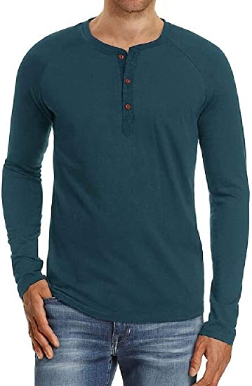 Mstyle Mens Short Sleeve V-Neck Solid Color Summer Loose T-Shirts Tee