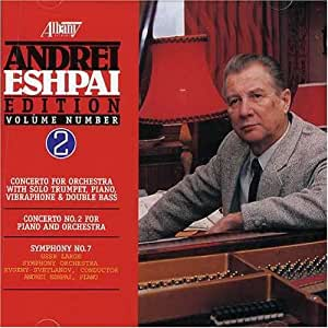 Eshpai Symphony; Piano Concerto(Vol.2)