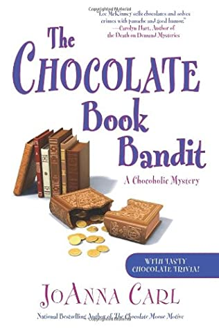 book cover of The Chocolate Book Bandit