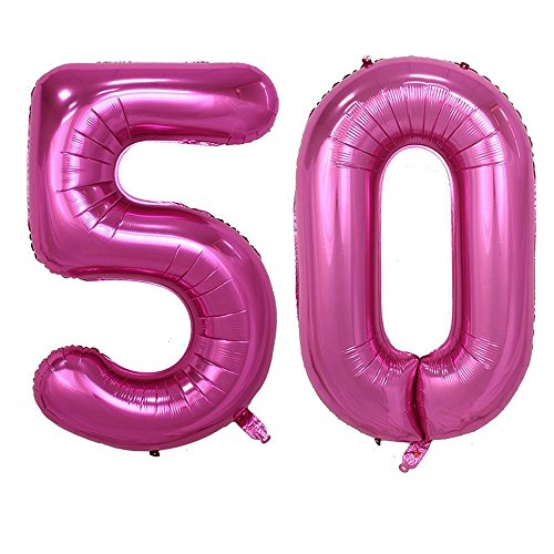 50 birthday numbers - 9
