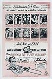 The Glenn Miller Story Poster 27x40 James Stewart June Allyson Harry Morgan