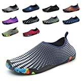 GUBARUN Men Barefoot Quick-Dry Water Sports Women's Aqua Shoes Drainage Holes for Swim, Walking,Beach,Driving
