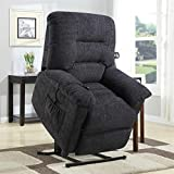 Cheap Coaster Home Furnishings Upholstered Power Lift Recliner Grey