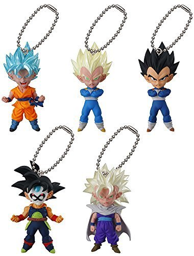 (Gashapon Dragon Ball Z UDM Ultimate Deformed Mascot The Burst 17 Set)