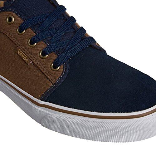 Low Chukka navy Herren Vans herringbone Sneakers tobacc 54wFqSnFp1